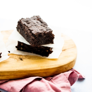 Brownies casi sin harina