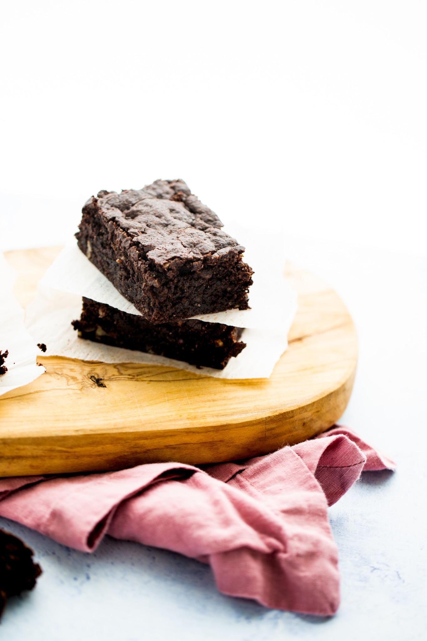 Brownies Casi Sin Harina Receta De Brownies Veganos