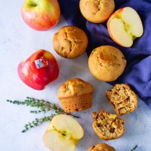 muffins de manzana y tomillo