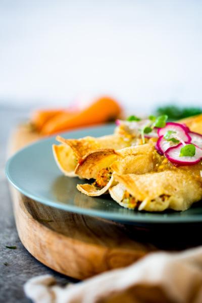 3 formas diferentes de hacer Tacos de zanahoria
