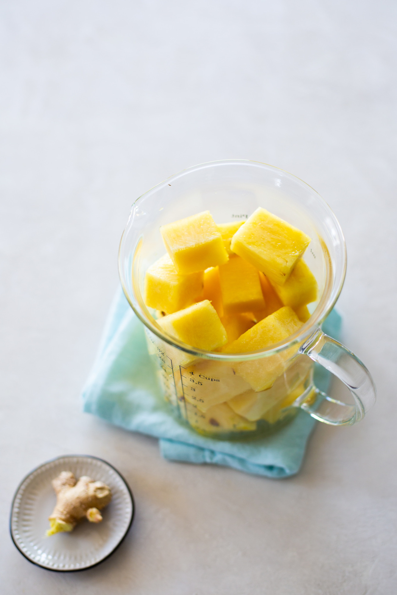 pineapple and ginger