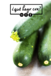 ¿Qué hago con zucchini (calabacín)?