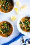 ¿Cómo hacer Sopa de pasta con verduras?
