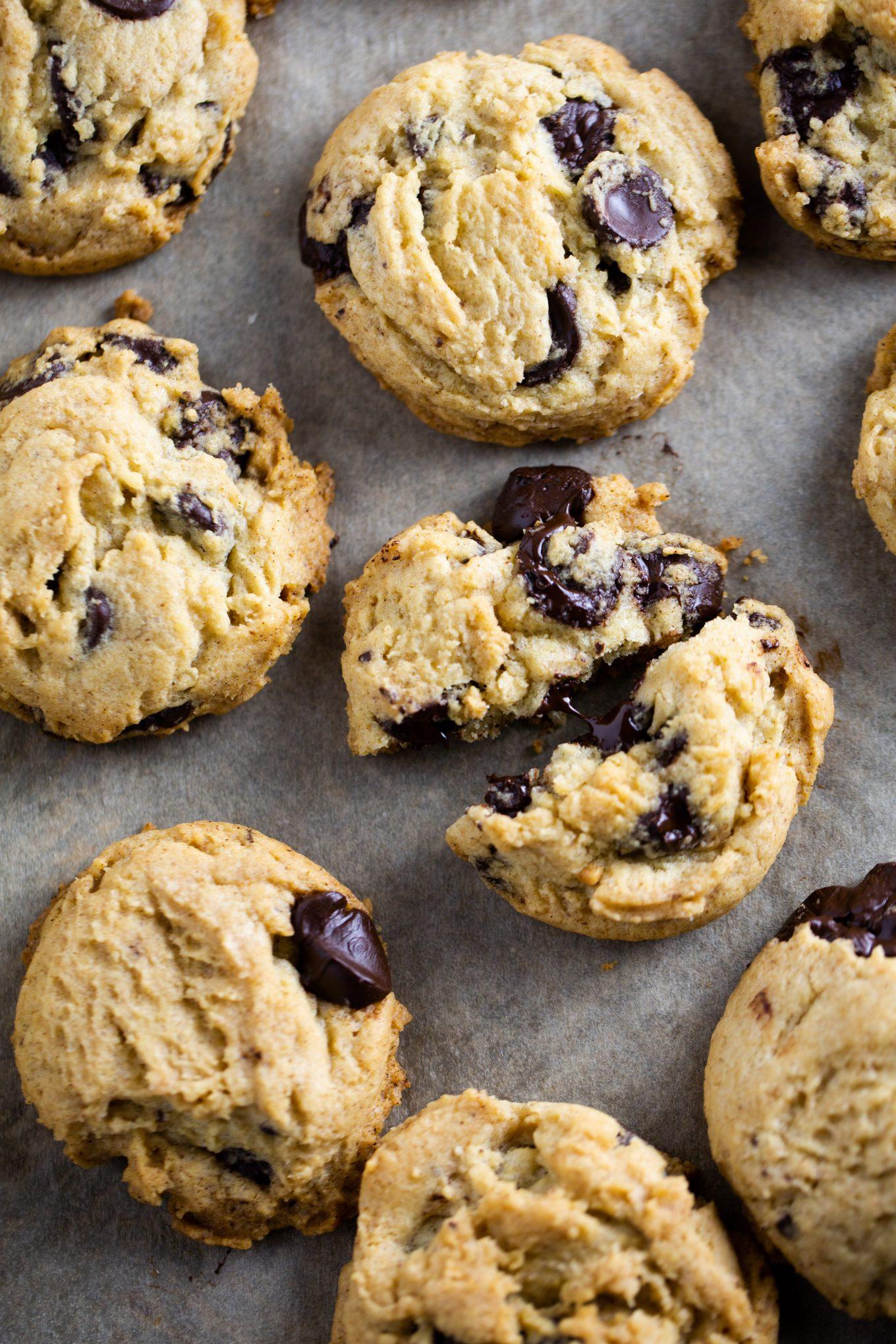 galletas de chispas de chocolate