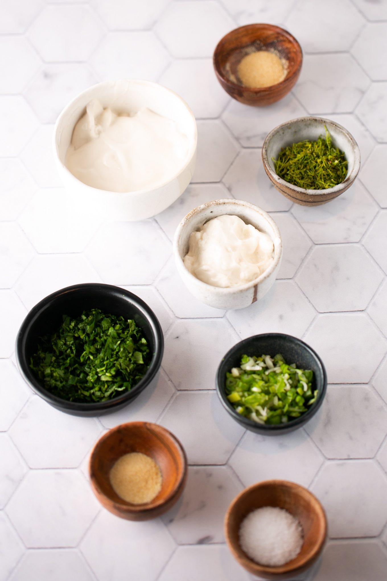 ingredientes para hacer aderezo ranch saludable
